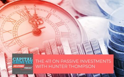 The 411 On Passive Investments With Hunter Thompson