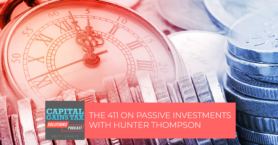CGT 3 | Passive Investment
