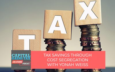 Tax Savings Through Cost Segregation with Yonah Weiss