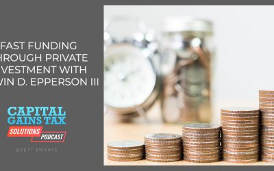 Fast Funding Through Private Investment With Edwin D. Epperson III
