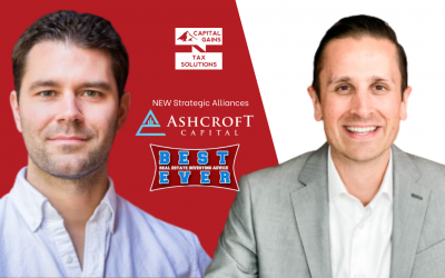 Press Release: Capital Gains Tax Solutions Welcomes Ashcroft Capital to their Network of Strategic Alliances