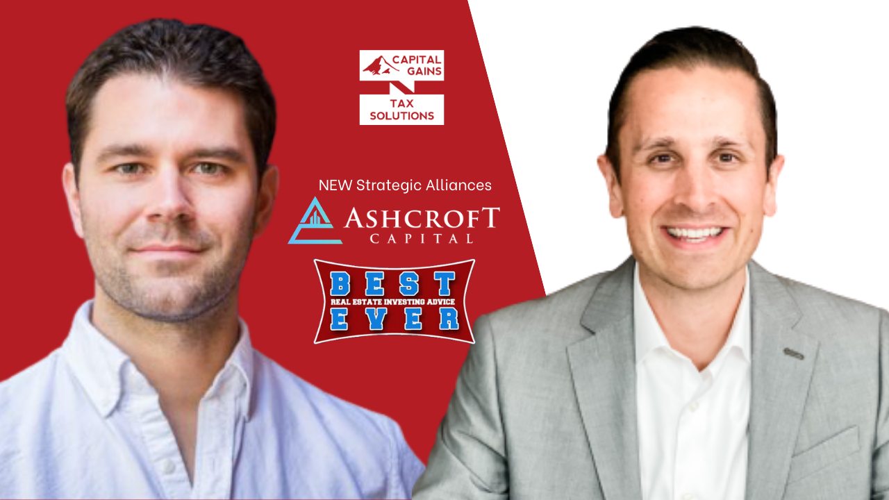 Capital Gains Tax Solutions Welcomes Ashcroft Capital