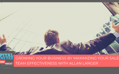 Growing Your Business By Maximizing Your Sales Team Effectiveness With Allan Langer
