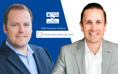 Press Release: Capital Gains Tax Solutions Welcomes Passiveinvesting.com to their Network of Strategic Alliances