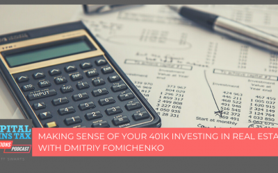 Making Sense Of Your 401k Investing In Real Estate With Dmitriy Fomichenko