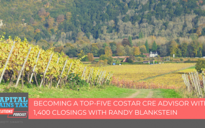 Becoming a Top-Five CoStar CRE Advisor with 1,400 Closings with Randy Blankstein