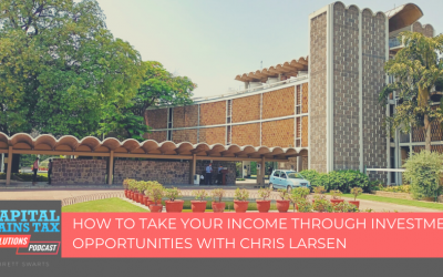 How To Take Your Income Through Investment Opportunities with Chris Larsen