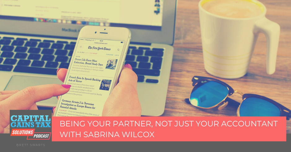 Being Your Partner, Not Just Your Accountant with Sabrina Wilcox