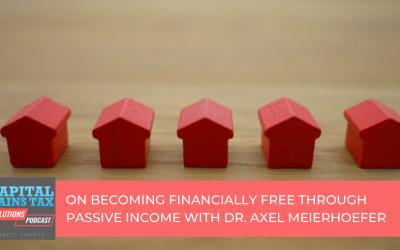 On Becoming Financially Free Through Passive Income with Dr. Axel Meierhoefer