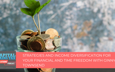 Strategies and Income Diversification for your Financial and Time Freedom with Ginny Townsend