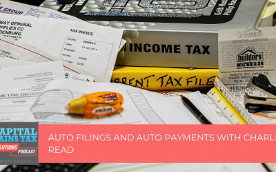 Auto Filings and Auto Payments with Charles Read