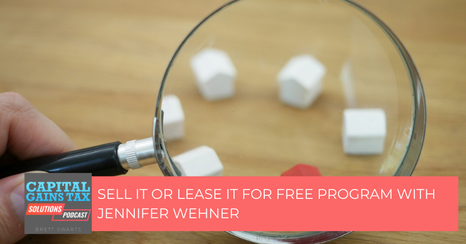 Sell It or Lease It For Free Program with Jennifer Wehner
